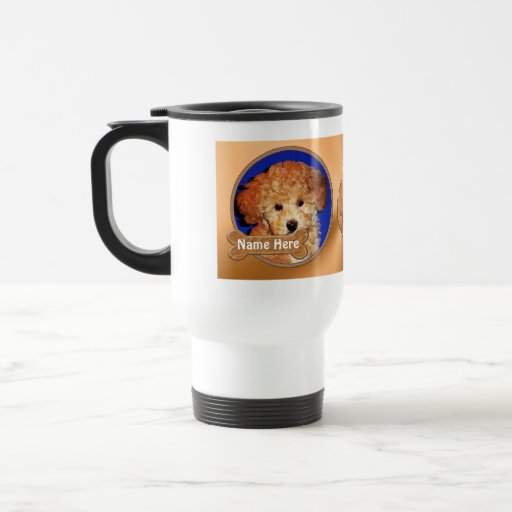 Personalized Dog Stuff YOUR 2 PHOTOS, 3 TEXT Coffee Mug