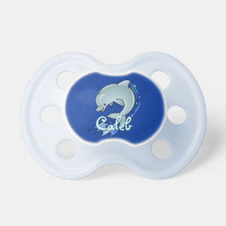 Personalized Dolphin Pacifier
