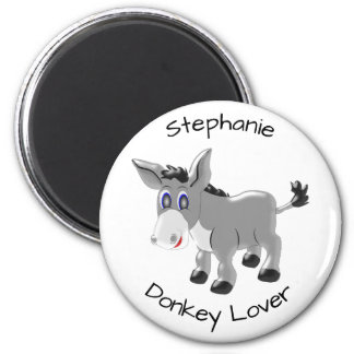 Personalized Donkey Design Magnet