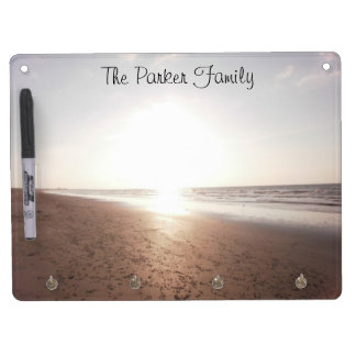 Personalized Dry Erase Board - Beach