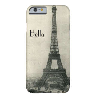 Personalized Eiffel Tower Paris iPhone 6 case Barely There iPhone 6 Case