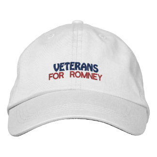 Personalized Election Veterans Embroidered Hat
