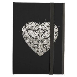 Personalized Elegant Designer Heart iPad Case