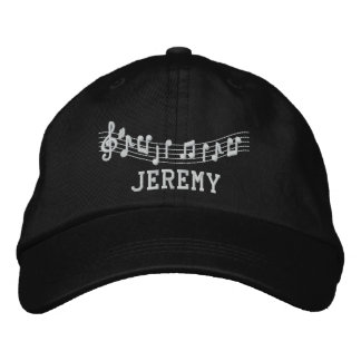 Personalized Embroidered Marching Band Music Hat Embroidered Hat