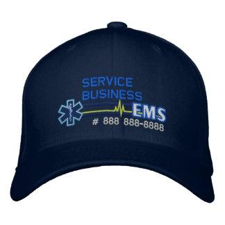Personalized EMS Paramedic Star of Life Baseball Cap