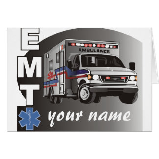 Personalized EMT Card