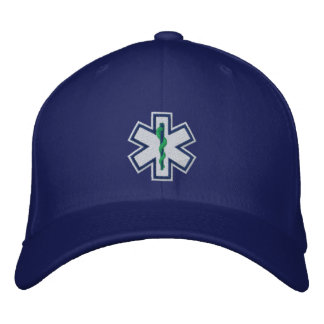Personalized EMT Emergency Medical Technician Embroidered Baseball Caps