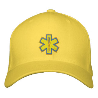 Personalized EMT Emergency Medical Technician Embroidered Hats