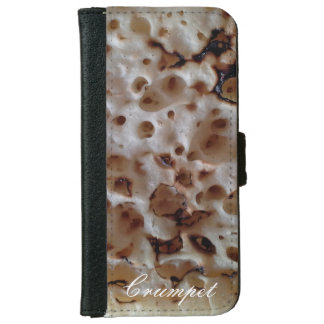 Personalized English Crumpet iPhone 6S Wallet