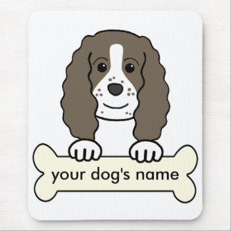 Personalized English Springer Spaniel Mouse Pad