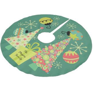 Personalized Everything Christmas Tree Skirt