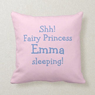 Personalized Fairy Cushion