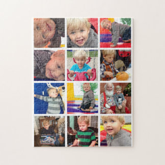 Personalized Family Photo Collage Puzzles