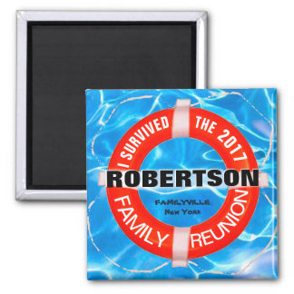 Personalized Family Reunion Magnet