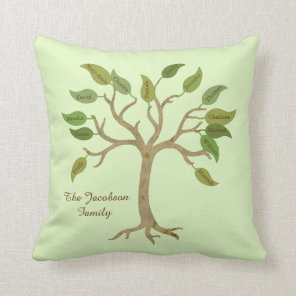 Personalised Family Tree Pillow