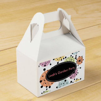 Personalized Favor Party Favour Boxes