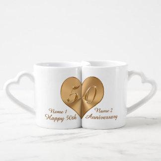 Personalized Fiftieth Anniversary Gift Lovers Mugs Lovers Mug