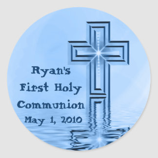 Personalized First Holy Communion Stickers
