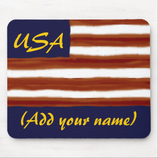 Personalized Flag Mousepad