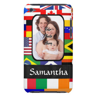 Personalized flags of the world iPod touch cover