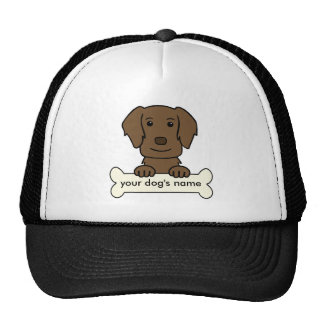 Personalized Flat-Coated Retriever Trucker Hat