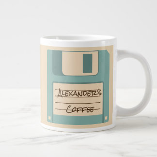 Personalized Floppy Disk Coffee Mug