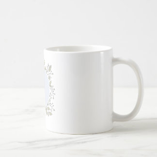 Personalized Floral Mug
