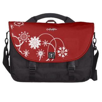Personalized: Floral Vine Laptop Bag