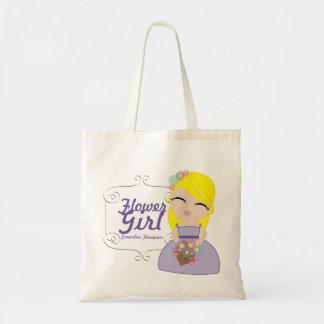 personalized FLOWER GIRL wedding keepsake gift 13 Tote Bag