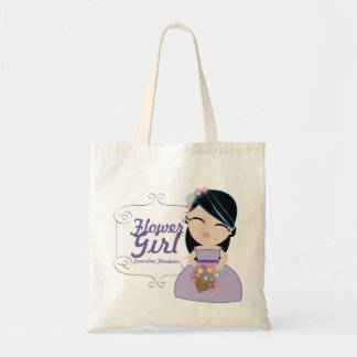 personalized FLOWER GIRL wedding keepsake gift 15 Tote Bag