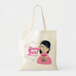 personalized FLOWER GIRL wedding keepsake gift 5 Tote Bag