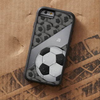 Personalized Footbal Soccer Tough Xtreme iPhone 6 Case
