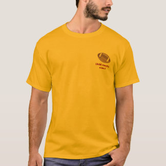 Personalized Football Coach T-shirt