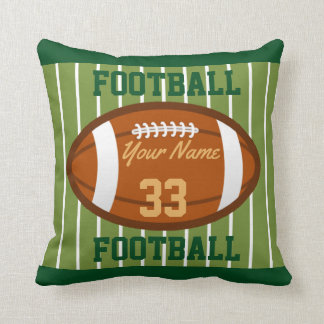 Personalized Football Cushion