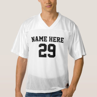 Personalized Football Jerseys for Men and Women
