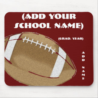 Personalized Football Mouse Pad