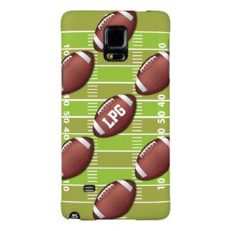 Personalized Football Pattern on Sports Field Galaxy Note 4 Case
