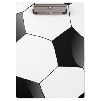 Personalized Football Soccer Ball Fan Sports Clipboard