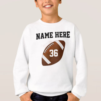 Personalized Football Sweatshirts or other Apparel