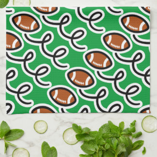 Personalized football towel | Sport theme
