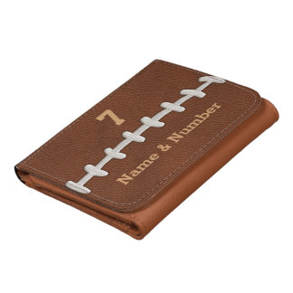 Personalized Football Wallet for Men