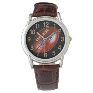 Personalized Football Watches for Players, Coach