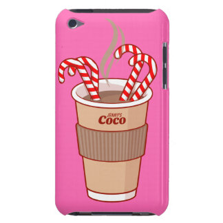 Personalized Four Candies and a Coco iPod Touch Case-Mate iPod Touch Case