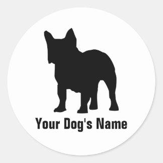 Personalized French Bulldog フレンチ・ブルドッグ Sticker