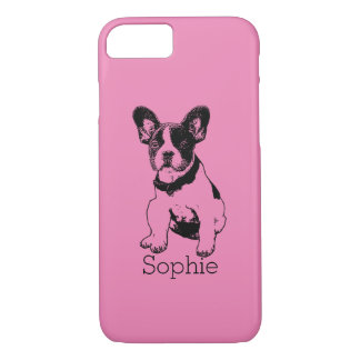 Personalized French Bulldog Puppy Pick Your Color iPhone 7 Case