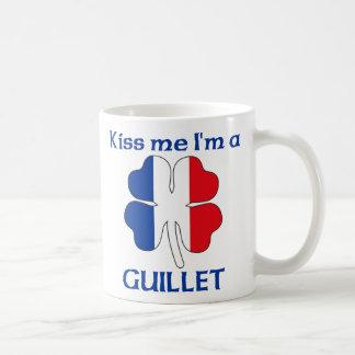 Personalized French Kiss Me I'm Guillet Basic White Mug