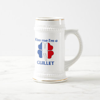 Personalized French Kiss Me I'm Guillet Beer Steins