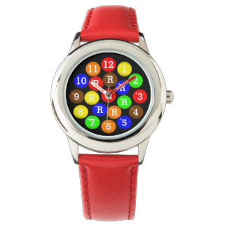 Personalized Fun Colorful Candy-Coated Chocolates Watches