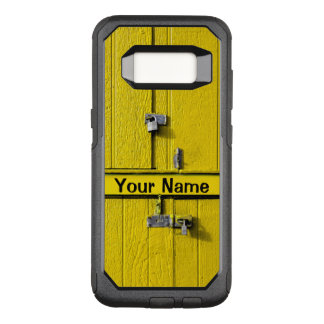 Personalized Fun Cool Unique Monogram Great Gift OtterBox Commuter Samsung Galaxy S8 Case