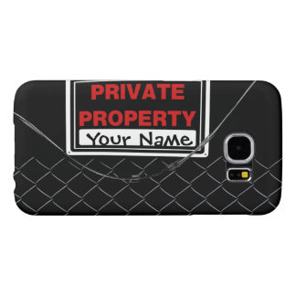 Personalized Fun Cool Unique Monogram Samsung Galaxy S6 Cases